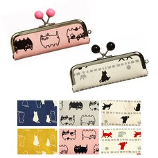 Canvas Cat Stamp Cases
