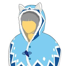 Monster Hunter World: Iceborne Felyne Cat Series Poncho