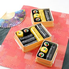 Norimaki Towel Wooden Bento Box Gift Set