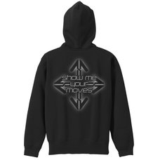 Dance Dance Revolution Black Zip Hoodie