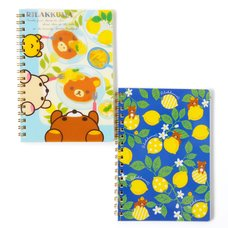 A Basketful of Lemons Rilakkuma Spiral Notebook