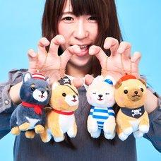 Mameshiba San Kyodai Kaizoku Gokko Dog Plush Collection (Ball Chain)