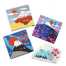 Souvenir Japan Diecut Magnet Collection