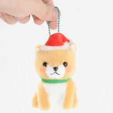 Mameshiba San Kyodai Christmas Dog Plush Collection (Ball Chain)