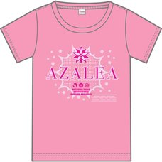 Love Live! Sunshine!! Aqours Club Activity LIVE & FAN MEETING 2018 Unit Battle Japan Tour AZALEA Ver. T-Shirt