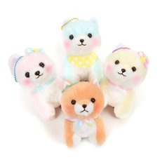 Mameshiba San Kyodai Funwari Yume no Kuni Vol. 2 Dog Plush Collection (Ball Chain)
