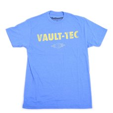 Fallout Vault Tec Men's Blue Heather T-Shirt