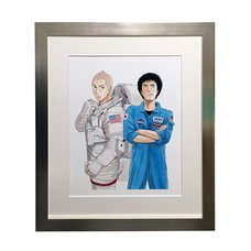 Space Brothers Exhibit Reproduction Art Print #1