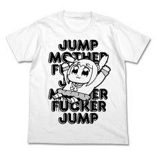 Pop Team Epic Jump White T-Shirt