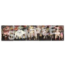 Holy Quintet Canvas Art | Puella Magi Madoka Magica The Movie: Rebellion