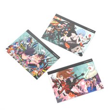 EVA STORE Original Sushio x Eva Part 1/2/3 Asuka/Mari/Rei Notebook Set