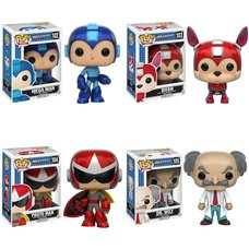 Pop! Games: Mega Man - Complete Set