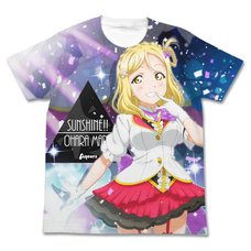 Love Live! Sunshine!! Mari Ohara Mirai Ticket Ver. White Graphic T-Shirt