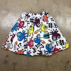 ACDC RAG Monster Flared Skirt
