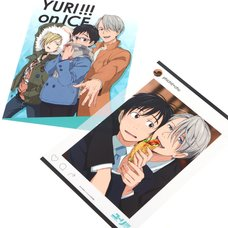 Yuri!!! on Ice Anime Mini Clear Posters