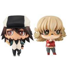 Chimi-Mega Buddy Series Tiger & Bunny Kotetsu & Barnaby Set