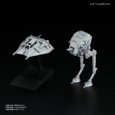 Star Wars 1/144 AT-ST & Snowspeeder