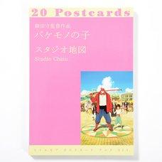 Little More Postcard Book Series Mamoru Hosoda's Film Monster's Child