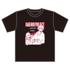 Kagerou Project Sidu Artworks Shintaro Game Avatar Ver. Black T-Shirt