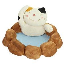 Mino Ware Hot Spring Cat