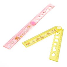 Rilakkuma Motto Nonbiri Neko Folding Ruler