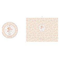 Cardcaptor Sakura Anime Country Flower Pouch & Mirror