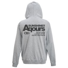Love Live! Sunshine!! Aqours Mixed Gray Light Zip Hoodie