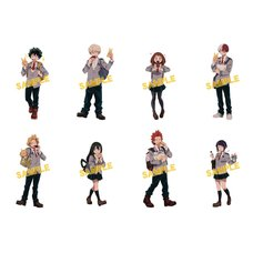 My Hero Academia Doughnut Ver. Clear File Collection