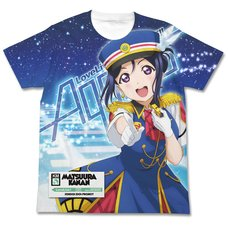 Love Live! Sunshine!! Kanan Matsuura Happy Party Train Ver. White Graphic T-Shirt