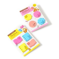 Rilakkuma Die-Cut Neon Sticky Notes