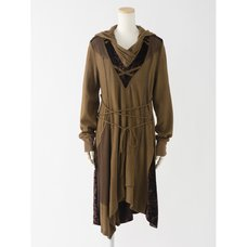 Ozz Conte Big Hooded Dress