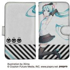 Hatsune Miku V4X Notebook-Style Smartphone Case