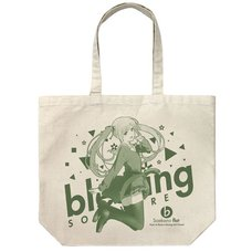 Saekano: How to Raise a Boring Girlfriend Flat Eriri Spencer Sawamura Natural Large Tote Bag