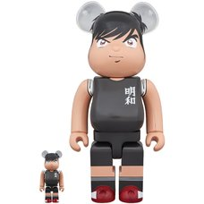 BE@RBRICK Captain Tsubasa Kojiro Hyuuga 100% & 400% Set