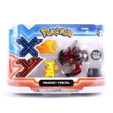"Pokémon Action Figure 2-Pack: Legendary Yveltal & 2"" Pikachu"