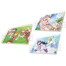 Love Live! General Magazine Vol. 1 Love Live! μ's Acrylic Magnet Collection