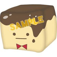 IDOLiSH 7 Face Cube King Pudding Plushie