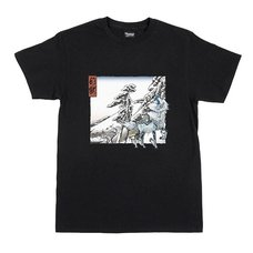 Monster Hunter Ukiyo-e Kirin x Yukibare T-Shirt