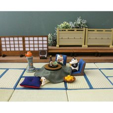 concombre Kotatsu Cat Ornaments