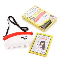 Oshushidayo Plush Shoulder Pouch Book