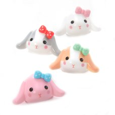 Pote Usa Loppy Rabbit Face Clips