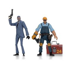 Team Fortress Series 3.5 BLU Action Figure Set