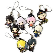D4 Series Touken Ranbu -ONLINE- Rubber Strap Collection Vol. 1 Box