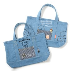 Rilakkuma Denim Series Mini Tote Bag