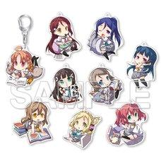 Love Live! Sunshine!! Chibi-Chara Trading Acrylic Keychain Collection Complete Box Set