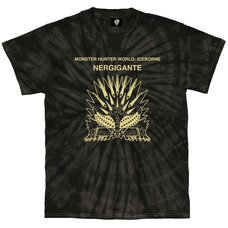 Monster Hunter World: Iceborne Nergigante Tie Dye T-Shirt