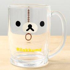 Rilakkuma Beer Mug (Rilakkuma Face)
