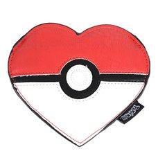 Loungefly x Pokémon Heart-Shaped Poké Ball Coin Bag