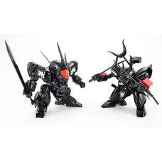 PLAMAX MS-04 Mashin Hero Wataru Black Ryujinmaru & Black Senjinmaru Set