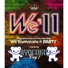 Original Entertainment Paradise Ore Para 2018 We'lluminate☆PARTY Ryogoku Blu-ray
